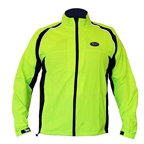 Tyron Laufjacke LJ-6 (Neongelb - XL) | | Running Jacket | Damen & Herren | Sommer | Herbst | Winter
