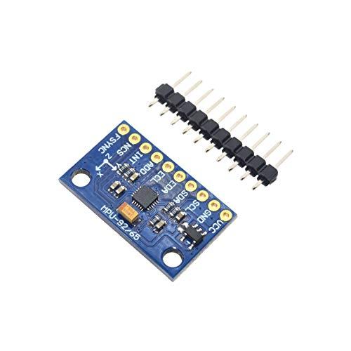 DSD TECH MPU-9250 9 DOF 3-Achsen-Gyroskop, 3-Achsen-Beschleunigungsmesser, 3-Achsen-Magnetometer Für Arduino Unterstützt SPI/IIC-Kommunikation