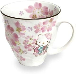 Hello Kitty Sakura Cherry Blossoms Mug Cup MugCup MADE IN JAPAN