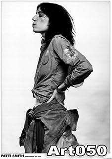 Patti Smith 巨大ラミネートパンクポスター