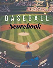 Baseball Scorebook: Softball and Baseball Scorebook | Log Book To keep tracks of scores and more | Cool christmas gift or birthday present for sport enthusiast