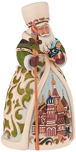 Enesco Jim Shore Heartwood Creek Russian Santa Stone Resin Figurine