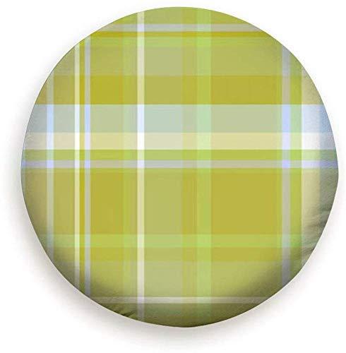 Schottenruit getextureerde onderlegger voor eten en drinken, polyester, universele wiel, bandafdekking, 14-17 inch