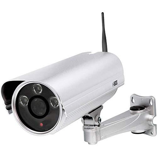 INSTAR IN-5907HD (Versión Wi-Fi) Plata/cámara IP/cámara de vigilancia/detección de Movimiento/cámara Exterior