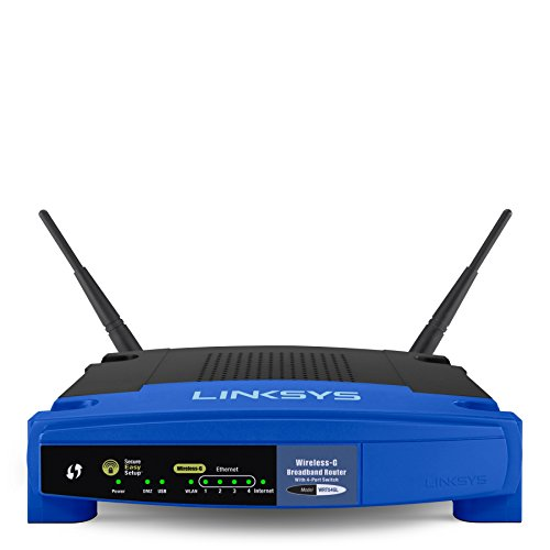 Linksys Wireless AC1200 Open Source Router 54 Mbit (DE) 54 MBit (DE) blauw/zwart