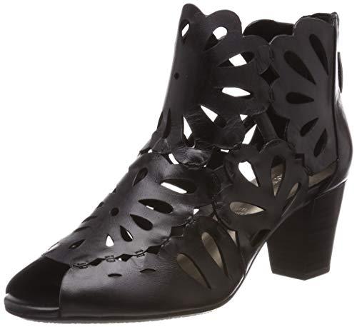 Gerry Weber Shoes Damen Lotta 17 Stiefeletten, Schwarz (Schwarz 100), 39 EU