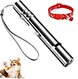 Cat Toys for Indoor Cats Interactive,Cats Dogs Indoor Outdoor, Kitten Toys, Cat Accessories with Pet Collar, USB Rechargeable Cat Wand for Cat Games Exercise