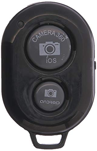 KobraTech Bluetooth Remote Shutter Release - The QuikPic Remote - iPhone Bluetooth Remote Camera Control for Any iOS & Android Smartphone (Black)
