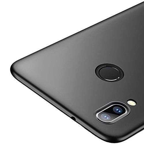 Vooway Nero Ultra Sottile Custodia Cover Case + Pellicola Protettiva per Huawei P20 Lite (5.84') MS70545