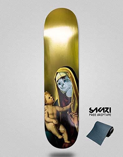 Ripndip Monopatín Skate Skateboard Madonna Gold 8.0