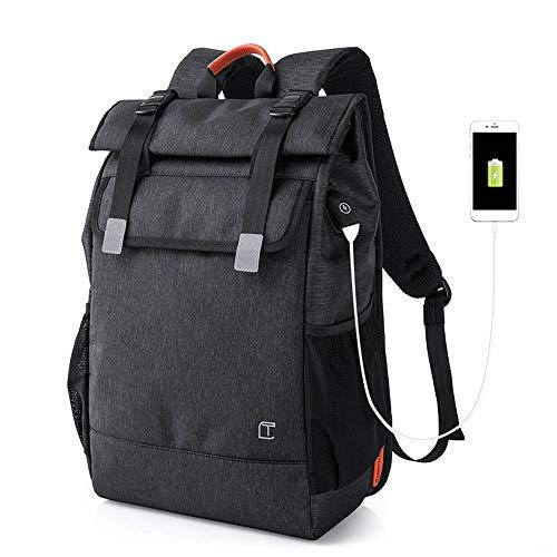 BROCCOLI Antifurto Zaino per Computer con Caricatore USB, Daypack Business, Ultralight Packable Camping Zaino Escursionismo Borse, Backpack per Universita Scuola Viaggio, per Donna Uomo