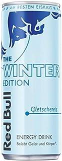 Red Bull Energy Drink Gletschereis OHNE Pfand Dosen Getränke, Winter Edition, 24er Pack 24 x 250 ml