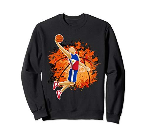 Philippines National Basketball Jersey Sport Slam Dunk Gift Sweatshirt