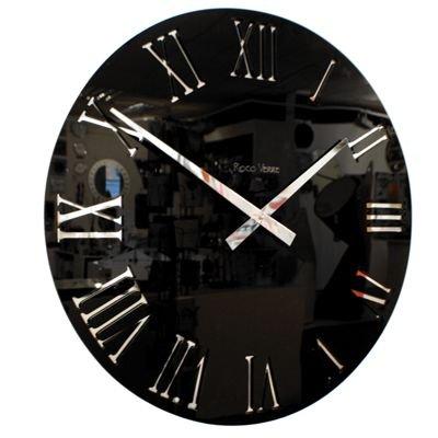 Roco Verre Horloge Acrylique Romaine Noire (58cm Diametre)