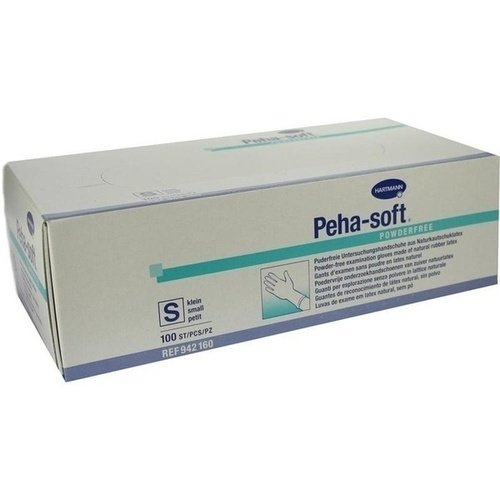Peha-soft powderfree unsteril - Gr. Small - PZN 07126879 - (100 Stück).