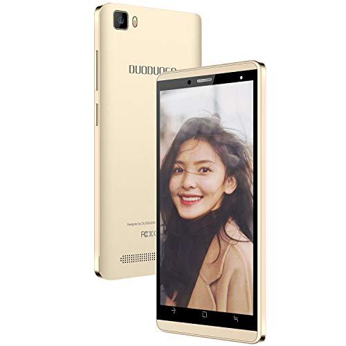 Telefonia Mobile J3 16GB ROM, 4G Smartphone in Offerta Supporta Dual SIM CPU 4 Core Wifi GPS Cellulare Android 9.0 5 Pollici 5MP Fotocamera Smartphone offerta del Giorno(Oro)