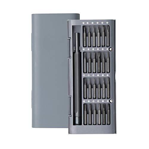 Multifuncional para Kit de destornillador de uso diario 24 bits magnéticos de precisión AL Destornillador de caja AL Conjunto de hogar inteligente