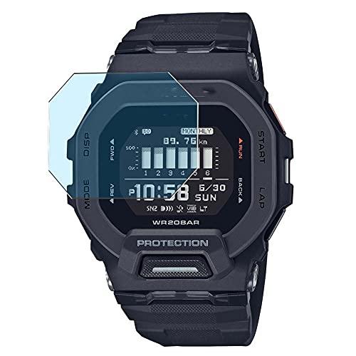 Vaxson 3-Pack Anti Luce Blu TPU Pellicola Protettiva, compatibile con CASIO G-SHOCK GBD-200, Screen Protector Film [Non Vetro Temperato Cover Case ]