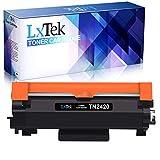 LxTek Toner Kompatibel für Brother TN2420 TN-2420 TN2410 TN-2410 für Brother MFC-L2710DW HL-L2350DW DCP-L2530DW MFC-L2710DN DCP-L2510D HL-L2310D HL-L2370DN HL-L2375DW DCP-L2550DN MFC-L2750DW