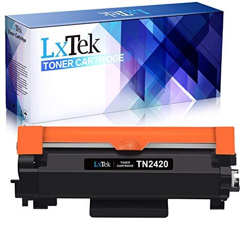 LxTek Compatibile per Brother TN2420 TN-2420 TN2410 TN-2410 Cartuccia di Toner (con Chip) per Brother HL-L2310D HL-L2350DW MFC-L2710DW MFC-L2710DN DCP-L2530DW HL-L2370DN HL-L2375DW MFC-L2730DW L2750DW