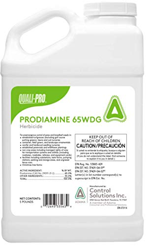 affodable Pre-germination prodiamine 65 wdg 5 lbs deciduous grass (universal barricade)