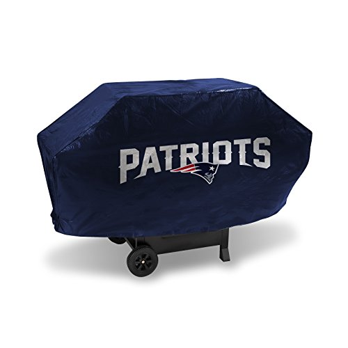 NFL New England Patriots Vinyl Padded Deluxe Grill Cover