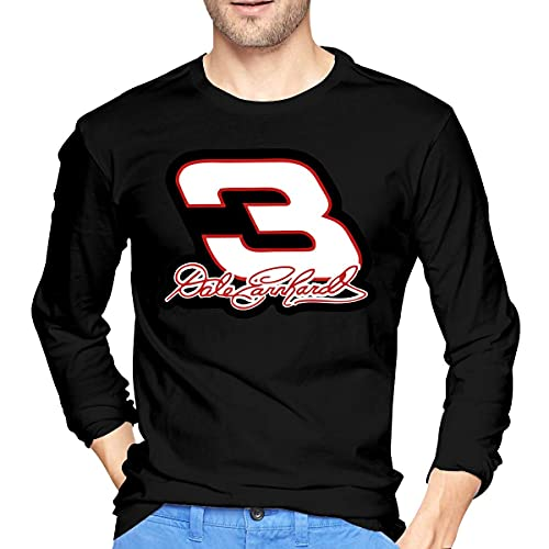Dale Earnhardt Race - Camiseta de manga larga con impresión en 3D, color negro