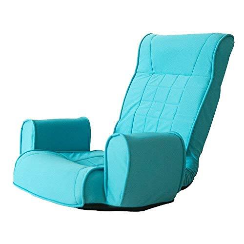 LuoMei Sedia a Sdraio Divano Pigro Divano Singolo Pieghevole in Stile Giapponese Sedia da Balcone Sedia da Salotto Sedile Rimovibile Lavabile Gratuito Invia Pennello Appiccicoso2#