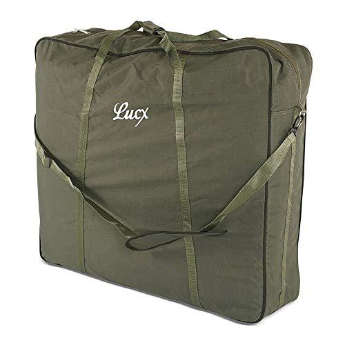 Lucx® Tragetasche XL für Angelstühle Chair Bag Gartenstuhl Transporttasche, Maße (L/B/H) 75 x 80 x 25 cm