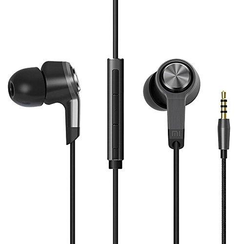 Xiaomi Piston 3 Dentro de oído Binaural Alámbrico Negro, Gris - Auriculares (Alámbrico, Dentro de oído, Binaural, Intraaural, 20-20000 Hz, Negro, Gris)