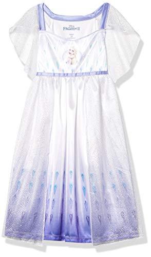 Disney Mädchen Girls' Frozen Fantasy Nightgown Nachthemd, ELSA-Epilogue, 4 Jahre