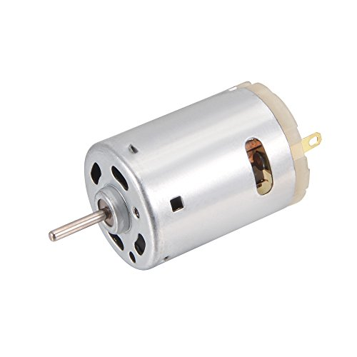 Sourcingmap a12032000ux0179 - DC 12V 10000RPM Mini Magnético Motor para Juguetes DIY de Carros Inteligentes