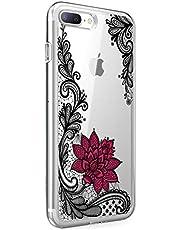 Suhctup - Carcasa Compatible con iPhone 6+/6S+ Plus, Silicona de Poliuretano termoplástico Flexible, Ultrafina antigolpes, Funda de protección para iPhone 6+/6S+ Plus de 5,5 Pulgadas
