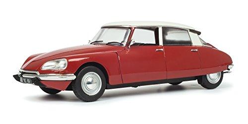 Solido 421184190 Citroen DS Special, 1972, rot, Miniaturmodell im Maßstab 1:18 Modellauto