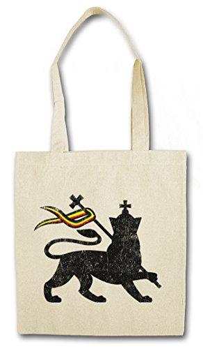 Urban Backwoods Lion of Judah I Hipster Bag Beutel Stofftasche Einkaufstasche