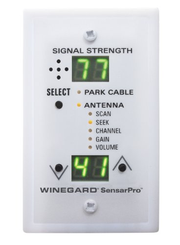 Winegard RFL-342 Sensar Pro White TV Signal...