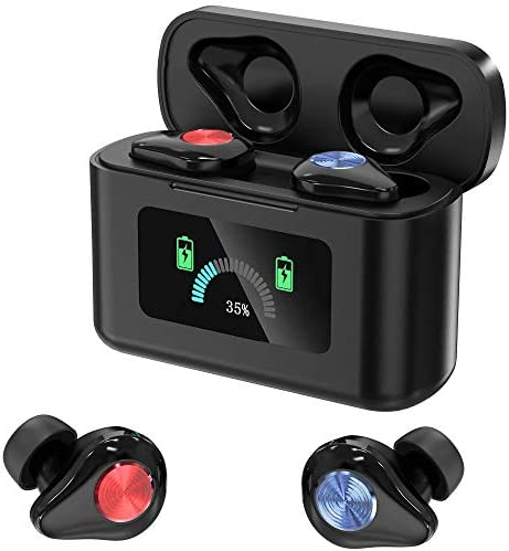 2020 New Dynamic Color Screen Wireless Earbuds Bluetooth 5 0 HD Stereo TWS Music Noise Cancelling product image