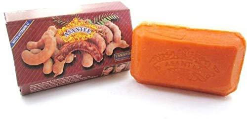 Natural Tamarind & Honey Asantee Soap 125 G. (Pack of 4) By POJ SHOP