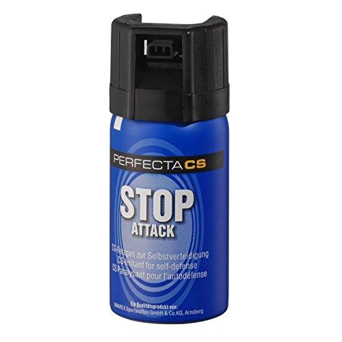 Walther CS Gas Abwehrspray Konischer Strahl, Blau, 40 ml