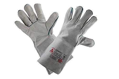 Hase Granada Lichtgewicht lashandschoenen; rundleer; keurmerk: TÜV, GS
