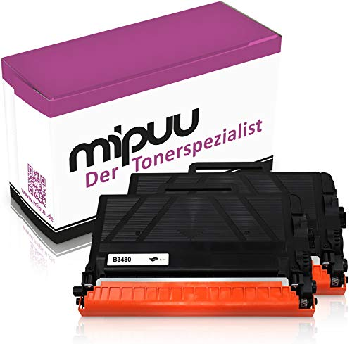Mipuu toner compatibel met Brother TN-3480 zwart zwart voor HL-L5100dn MFC-L5750dw DCP-L5500dn HL-L5200dw HL-L6300dw HL-L6400dw MFC-L5700dn