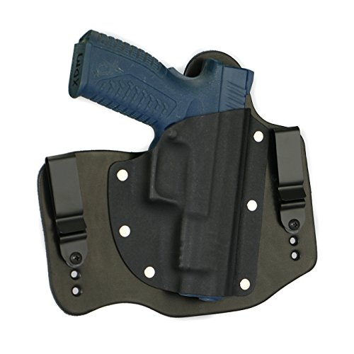 FoxX Holsters Springfield XDM 4.5 9/40/45 in The Waistband Hybrid Holster Tuckable, Concealed Carry Gun Holster