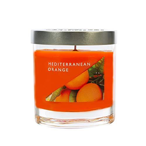 WAX LYRICAL Medium Wax Fill Candle Mediterranean Orange. Burn Time Approx 50 Hours Jar