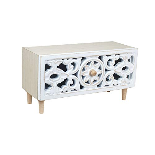 Unbekannt Home Gadgets Box aus Holz, Barock, 30 cm