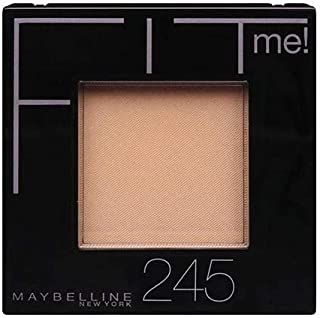 Maybelline New York Fit Me Pressed Powder - 245 Medium Beige, 0.31 oz.