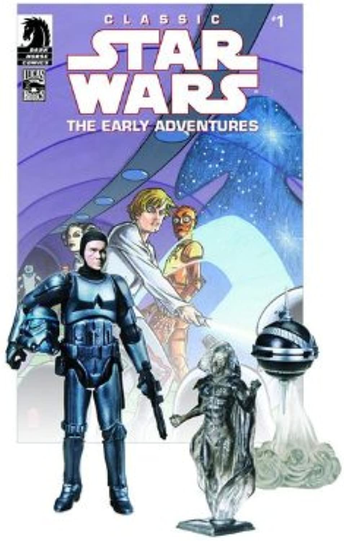 Star Wars Wars Wars Action Figures Comic Packs  Stormtrooper and Blackhole Hologram 9bde08