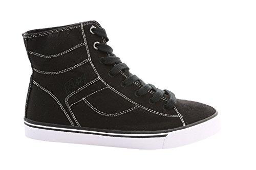 Pastry Cassatta Stretch Canvas Dance Sneakers, Black/White, Size 5.5