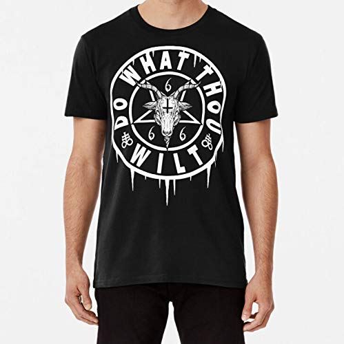 Danchoitee Shirt DO WHAT THOU WILT OCCULT BAPHOMET TShirt