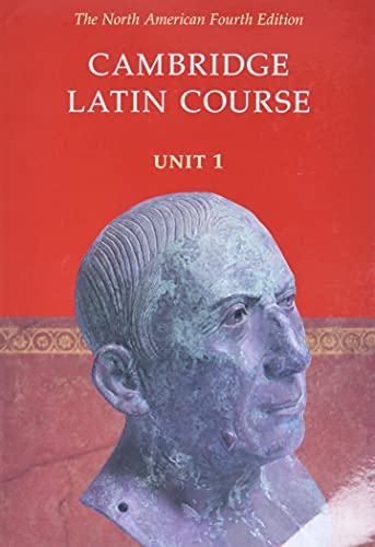 Compare Textbook Prices for Cambridge Latin Course: Unit 1, North American 4 Edition ISBN 9780521004343 by North American Cambridge Classics Project