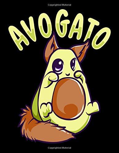 Avogato: Cute Avogato Avocado Cat Funny Kitty Avo-gato Pun...